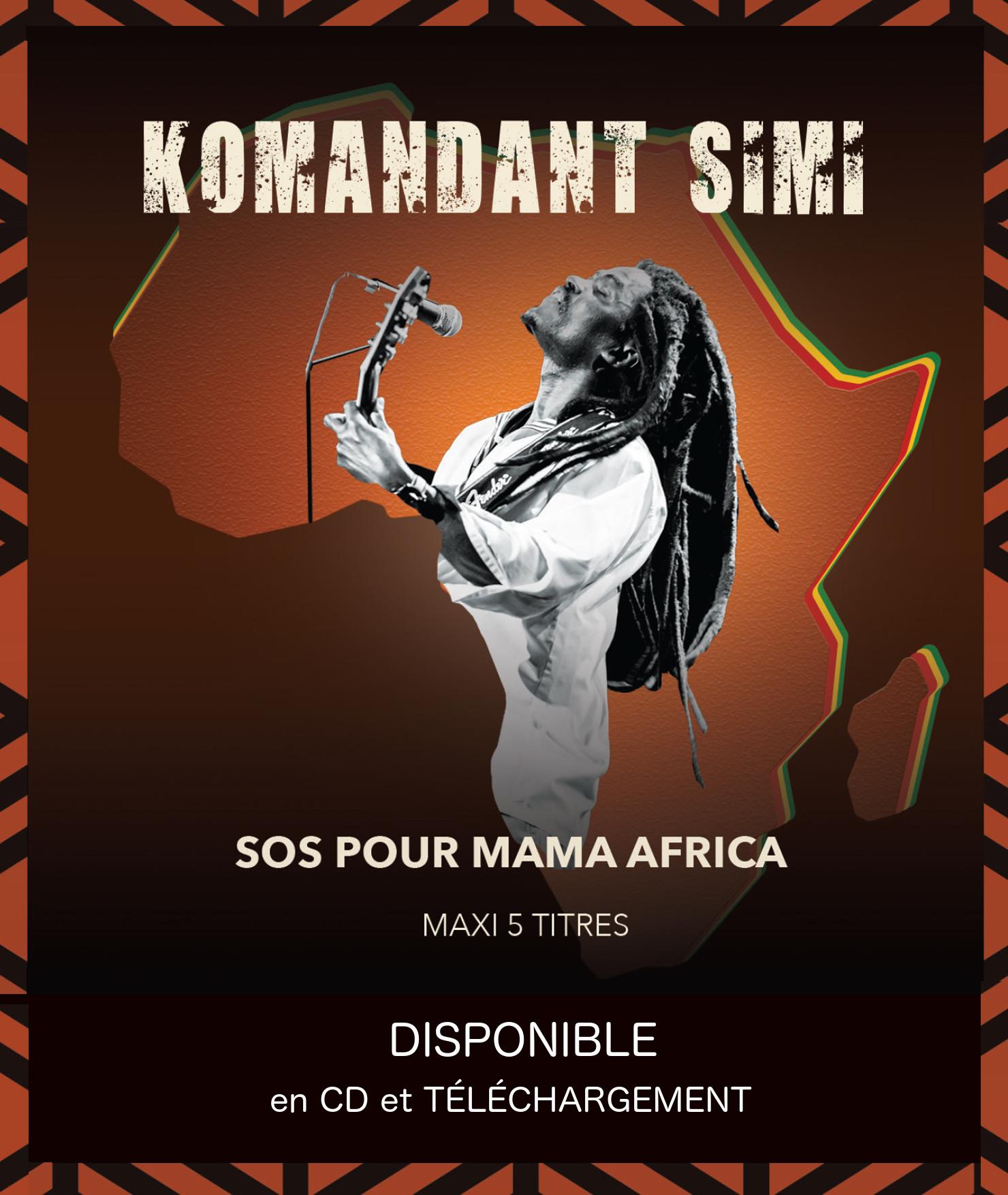 SOS POUR MAMA AFRICA : SORTIE DU CD