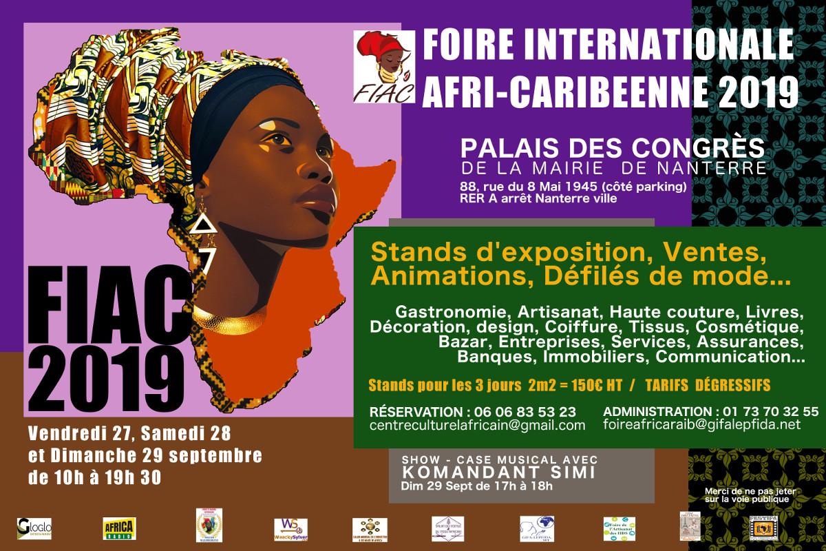 Foire Internationale Afri-Caribeenne 2019