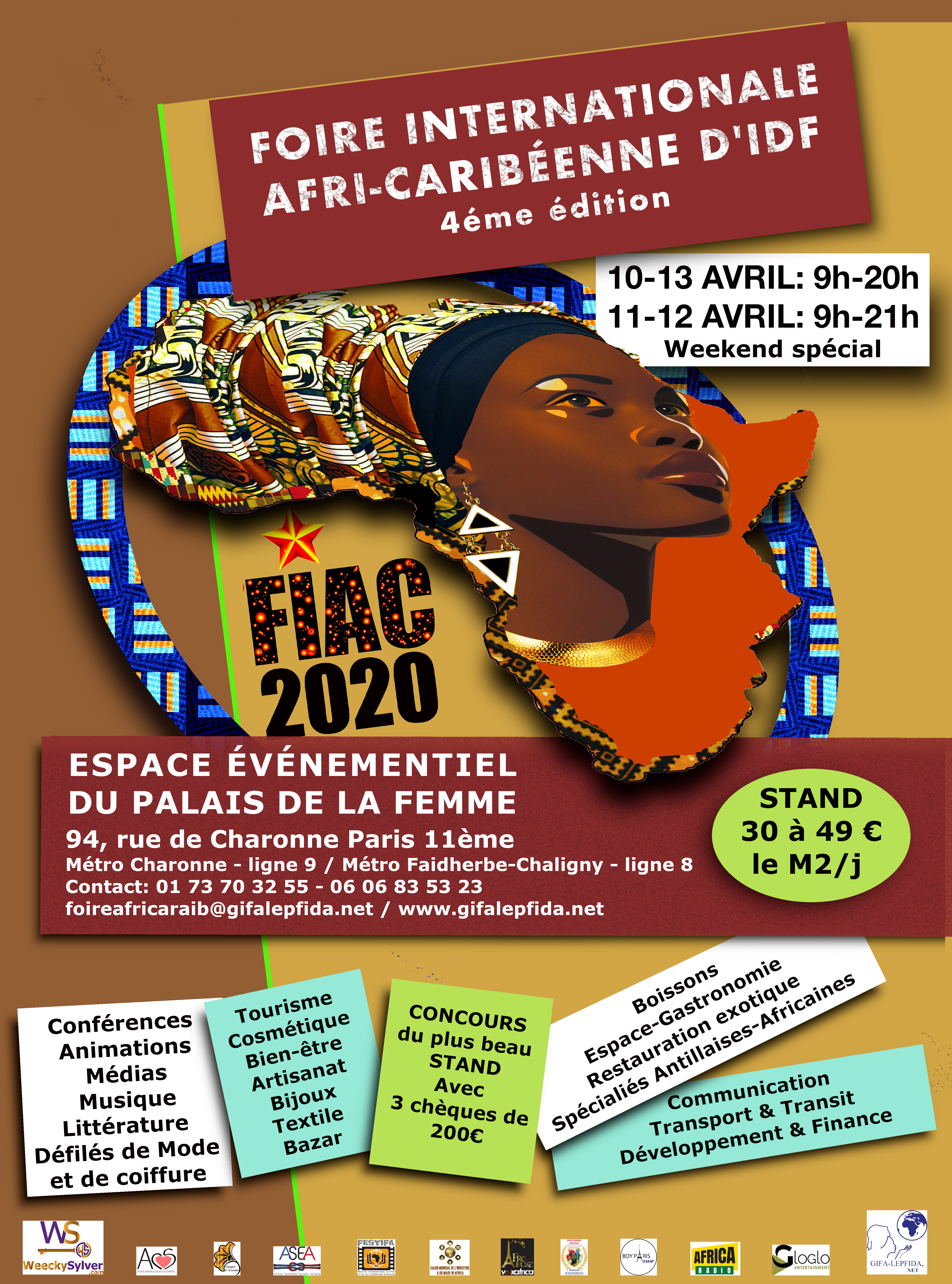 FOIRE INTERNATIONALE AFRI-CARIBÉNNE 2020